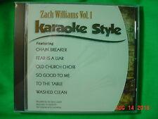 Zach Williams Volume #1 Christian Daywind Karaoke Songs cdg Karaoke New