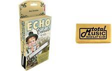 Hohner 455 Echo Celeste Tremolo Tuned Harmonica Key of A, Includes Case & Polish