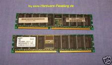 1GB Set Hp Ddr 266MHz ECC reg. RAM a8087b DL360 G3, DL380 G3,xw6000,Xw8000