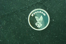 FREEDOM EAGLE 1 GRAM .999 SILVER FEATHERS ROUND COIN BULLION  SURVIVAL BARTER
