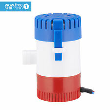 "New Submersible 500 GPH Bilge Pump for Marine Boat Yacht w/ 3/4"" Hose 12V 2.0A"