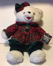 1999 WALMART CHRISTMAS SNOWFLAKE TEDDY BEAR