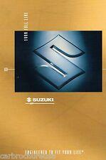 1999 SUZUKI Brochure/Catalog/Pamphlet w/Color Chart: GRAND VITARA,SWIFT,ESTEEM,