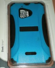 Trident dual layer hybrid Aegis case for Nokia Lumia 928, Blue & Black, NEW