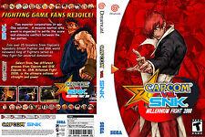 Capcom vs. SNK CUSTOM SEGA DREAMCAST CASE (NO GAME)