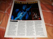 Waysted live review article / photo, Pete Way Danny Vaughan photos