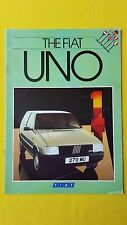 Fiat Uno 45 55 70 Super Comfort ES car brochure sales catalogue September 1984