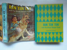 Rin Tin Tin and the Ghost Wagon Train, Cole Fannin, Golden Press, DJ, 1958