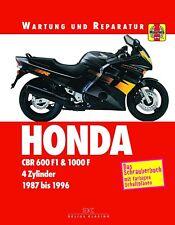 Reparación manual de Honda CBR 600f1 & CBR 1000f 1987, 88, 89, 90, 91, 92, 93 - 96