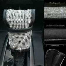 Car Shift Knob Cover Bling Crystal Gear Auto Interior Accessories Repla XWV