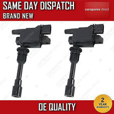 2x IGNITION COIL FOR MAZDA 323 F/P S MK6 1.9 16V, 2.0 1998>2004 FFY1-18-100