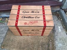Wooden North Pole Special Delivery Mail Box Christmas