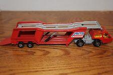 ORIGINAL Matchbox Super Kings - K-10 - Car (Auto) Transporter Red Color England.