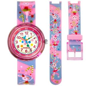 Children's Watch Time Teacher Pink with Ballerina Rabbit  RRP: £14.99