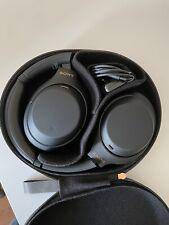 Sony WH-1000XM4 Wireless Noise Canceling Over Ear Headphones - Black