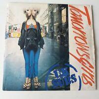 "UK Subs - Tomorrow's Girls - Blue Vinyl 7"" Single UK 1st Press VG+/EX Punk"