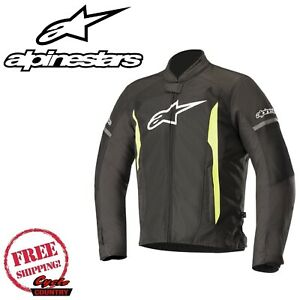 ALPINESTARS T-FASTER AIR MOTORCYCLE JACKET SIZE MD  STREET TEXTILE FREE SHIPPING
