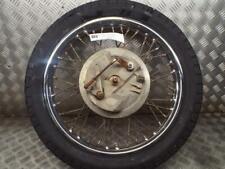 Kawasaki A65 Lightening Thunderbolt Only 1968 Front Wheel Spindle & Brake Plate