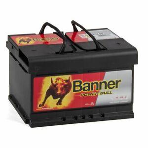 BANNER 57209 P7209 Power Bull Autobatterie Batterie 12V 72Ah 670A