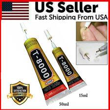 50ML / 15ML Rhinestone Glue T-8000 Multi-Purpose Adhesive Jewelry Nails Phone US