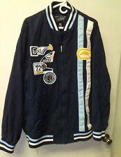 Ecko Unltd Men's Embroidered Logo patches. Jacket Full Zip Sz 3XL