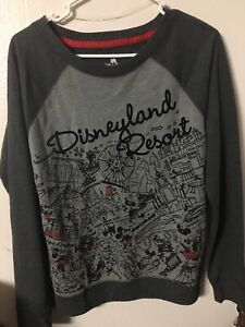 disneyland sweatshirt ladies medium