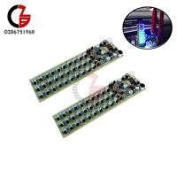 Voice Control Level Indicating LED Electronic Production Red/Blue/Green DIY Kit