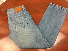 BIG STAR Union Slim Straight Distressed Men's Jeans 32x31 Medium Wash