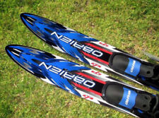 NWT O'BRIEN Celebrity 172cm Blue Black Duel Tunnel Water Skis Composite Design