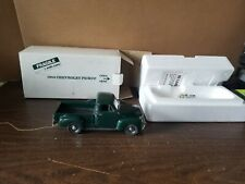 Danbury Mint 1953 CHEVY PICKUP Diecast Model Truck 1:24 Juniper Green Damaged