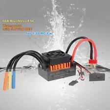 Sans capteur 60A sans brosse ESC électrique Régulateur De Vitesse Pour RC