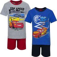 Disney McQueen Kurz Schlafanzug für Junge Kinder Shorty Pyjama 98 104 110 116