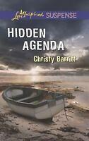 Hidden Agenda by Barritt, Christy