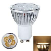 GU10 High Power 12W Aluminiumlegierung 4x3w LED Lampe Strahler Warm Weiss