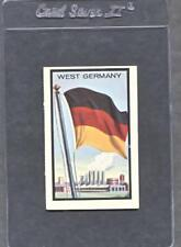 1963 Topps Midgee Flags #98 West Germany  (NM)  (Flat Rate Ship)