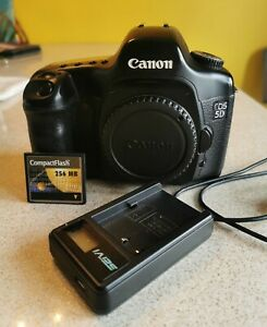 Canon EOS 5D DSLR Full Frame Camera - Body Only  + accessories Inc 256mb CF card