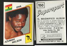 Azumah Nelson (GHANA) Panini Boxing CARD Supersport 1986!! NEW n.150!!