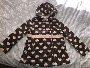 Girls Gymboree Raincoat Size 5-6