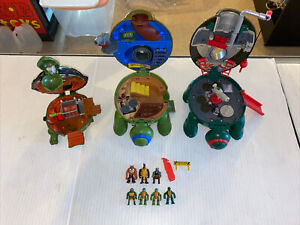 TMNT Mini Mutants Figures & Micro Playset Lot