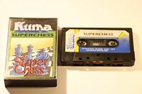RARE SONY MSX GAME -- SUPERCHESS -- BY KUMA 1984 -- CASSETTE GAME
