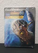 Marvel the Avengers Infinity War 4K UHD Bluray Steelbook neu Best Buy