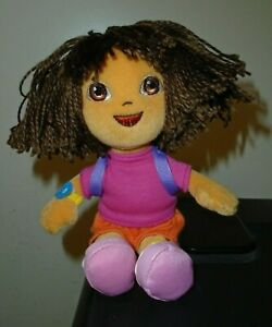 NT* Ty Beanie Baby DORA the EXPLORER (7 Inch) NO HANG TAG