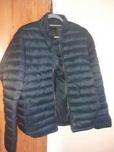 barbour green fibre down padded jacket size M