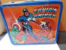 LUNCHBOX SPIDERMAN HULK CAPTAIN AMERICA 1980 ALADDIN MARVEL TV HEROES VINTAGE