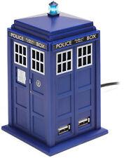 Doctor Who-Tardis Hub USB * Nuovo di Zecca *