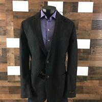 FLYNT Bueller Mens Sport Coat Unstructured Blazer Jacket Herringbone Sz 46 Long