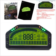 Car Dash Race LCD Screen Display Gauge Sensor Kit 9000rpm Rally Gauge Waterproof