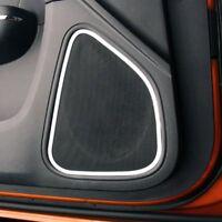 Upgrade Your Auto 2pc Chrome Vinyl Front Speaker Bezels Molding for 2001-2005 Chrysler PT Cruiser