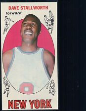 1969-70 Topps #74 Dave Stallworth Card is in Great shape, writing on back*