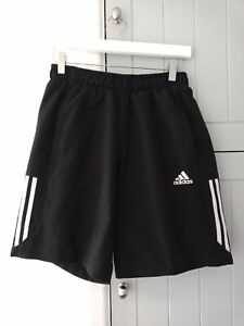 MENS BLACK ADIDAS SHORT - CLIMATE - SIZE S -  GOOD CONDITON